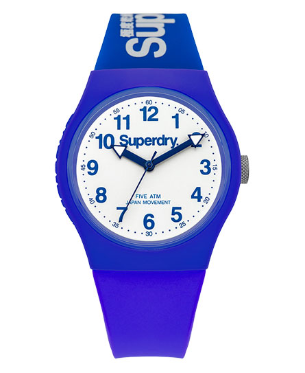 Superdry Urban Armbanduhr  Blau