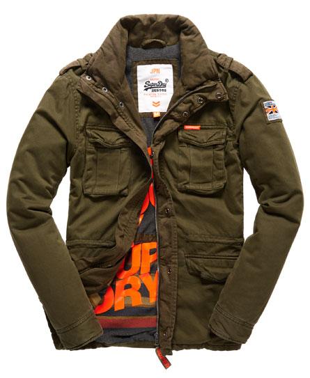 superdry winter rookie jacket men 39 s jackets. Black Bedroom Furniture Sets. Home Design Ideas