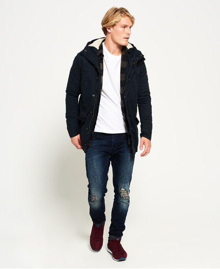 Superdry Winter Rookie Military Parka Jacket