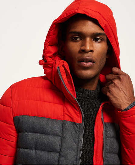 Superdry Fuji Colour Block Hooded Jacket