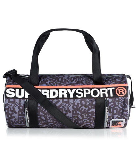 superdry sac polochon super sport sacs pour femme. Black Bedroom Furniture Sets. Home Design Ideas