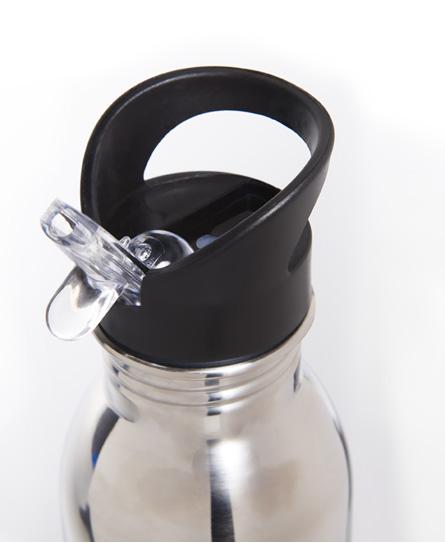 Superdry Botella de deporte de acero