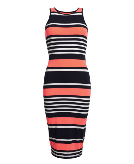 Superdry Starboard Stripe Midi Dress