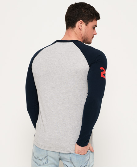 Superdry Shirt Shop Tri Raglan T-Shirt