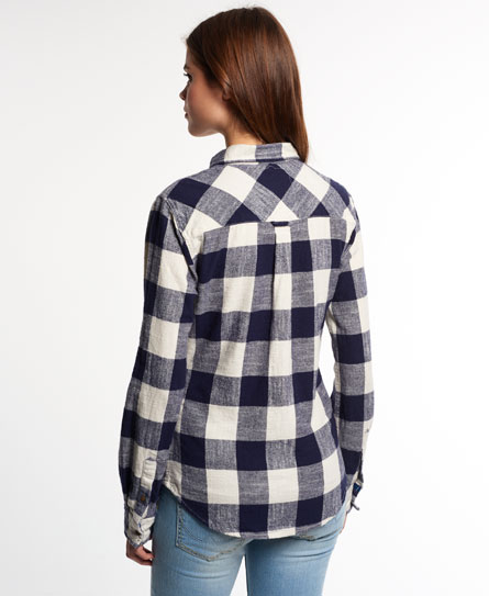Super Slub Boyfriend Shirt Superdry Clearance Low Price Fee Shipping G4wGI0O55