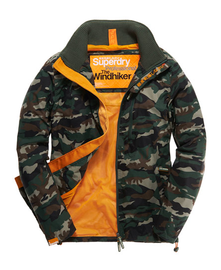 Superdry Technical Windhiker Green