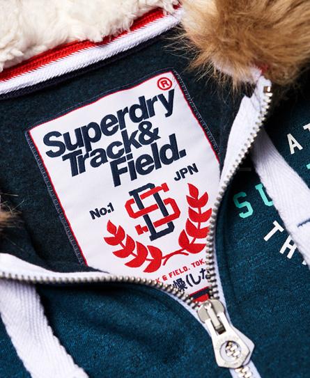 Superdry Track & Field Super Track Zip Hoodie