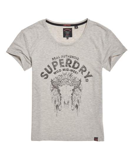 Superdry Wild West Slim Boyfriend T-Shirt