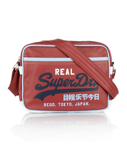 Superdry Mash Up Mini Alumni Bag Red
