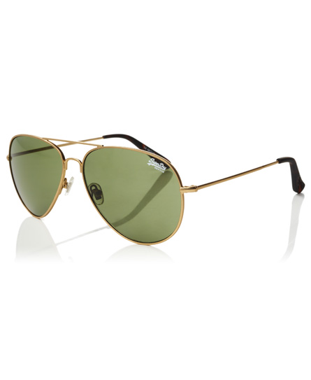 gold Superdry Huntsman Sonnenbrille