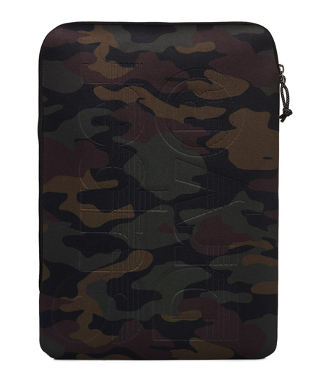 camo schwarz Superdry Presenter Laptop-Hülle