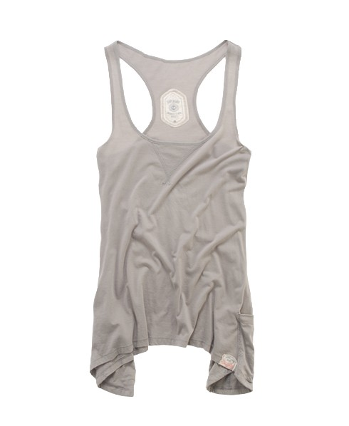 Superdry Pocket Tank Lt/grey