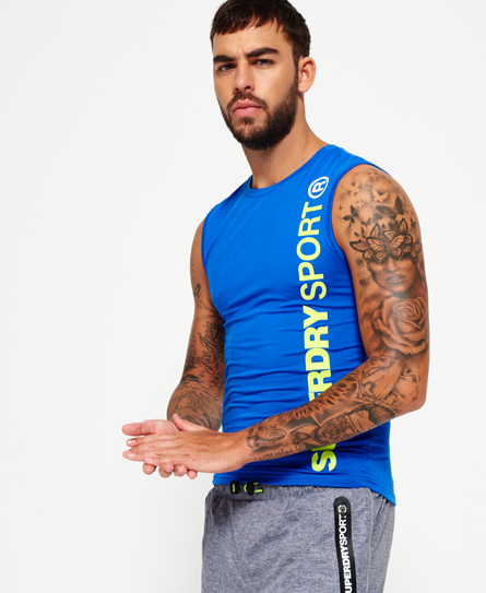 Superdry Superdry Sports Athletic tanktop