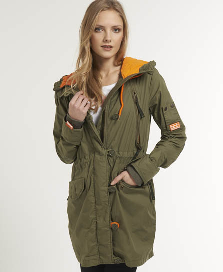 Superdry Ultimate Service Parka Green