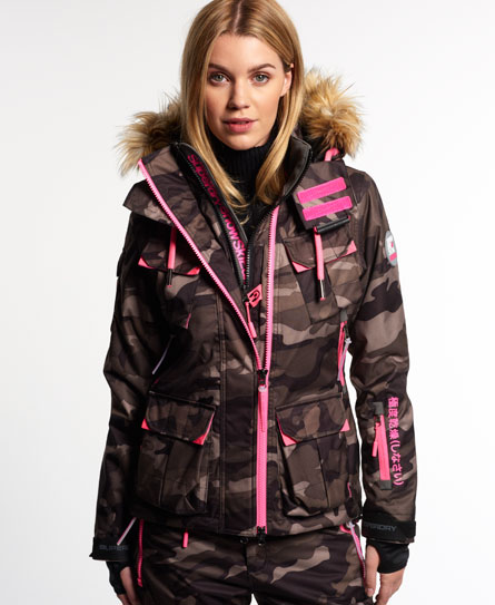 superdry veste de ski ultimate snow service vestes et manteaux pour femme. Black Bedroom Furniture Sets. Home Design Ideas