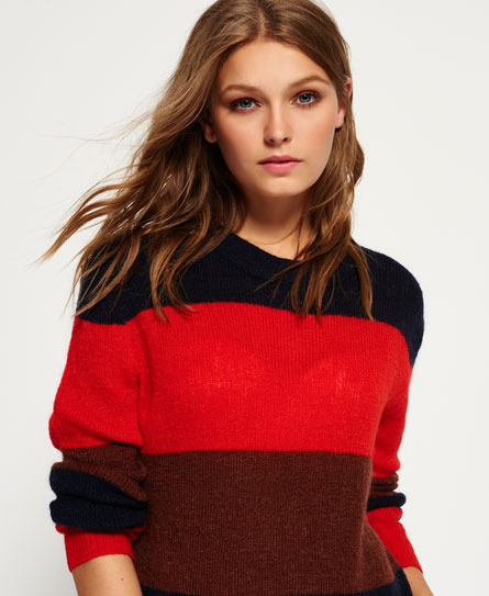 autumn stripe Superdry Maglione in lana mohair Milo