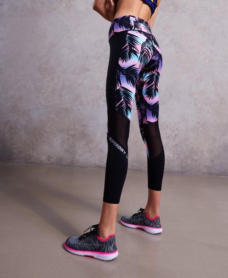 Superdry Sport Printed 7/8 leggings