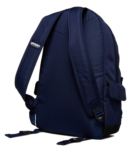 Superdry Ivy Badged Montana Rucksack Navy