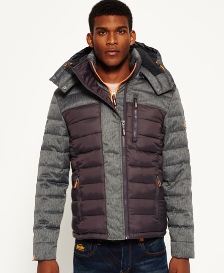 Fuji Mix Double Zip Hooded Jacket