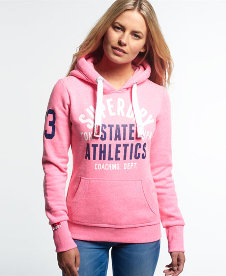 superdry track field hoodie damen hoodies. Black Bedroom Furniture Sets. Home Design Ideas