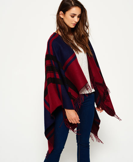 wine/deep indigo Superdry Dekenachtige Arizona cape