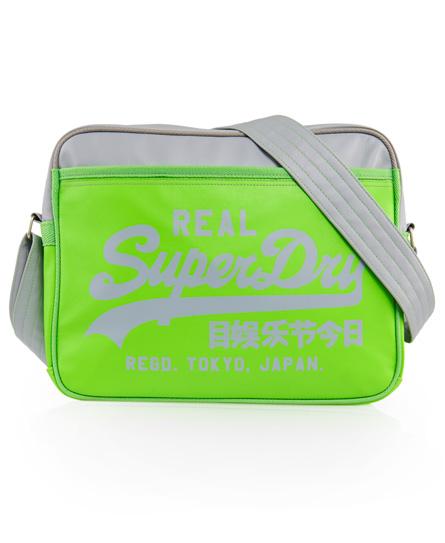 Superdry Two Tone Alumni Bag Green