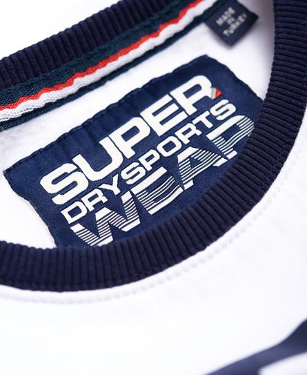 Superdry Cropped Crew Neck Sweatshirt
