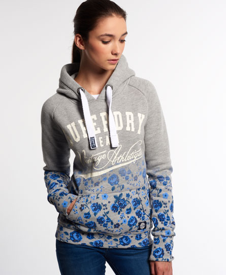superdry ombre roses hoodie damen hoodies. Black Bedroom Furniture Sets. Home Design Ideas