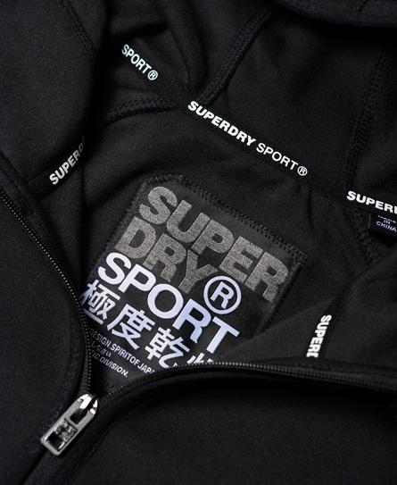 Superdry Gym Tech Zip Hoodie