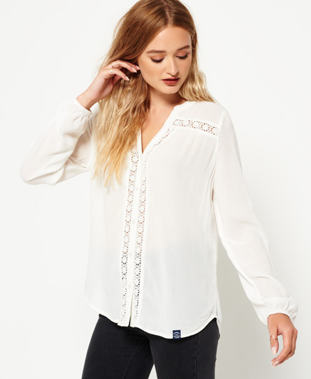 midwest creme Superdry Victoria Top