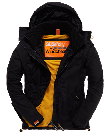 Superdry Polar Windcheater Black