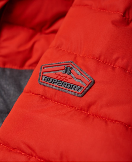 Superdry Fuji Colour Block Hooded Jacket