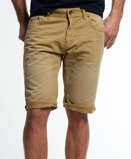 Superdry Worn Wash Jean Shorts - Men's Shorts