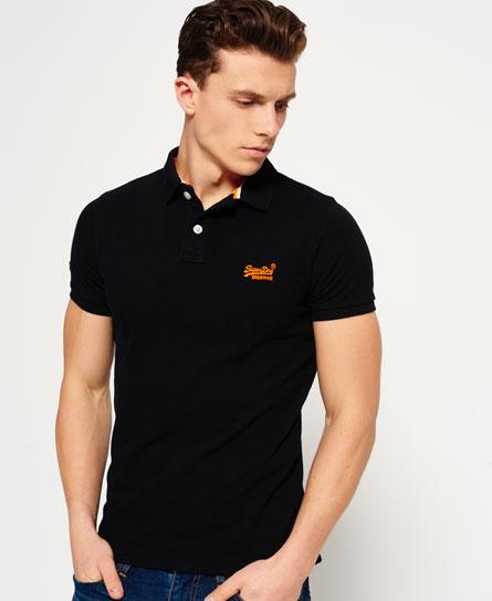 Superdry Classic Pique Polo Shirt - Men's Polo Shirts