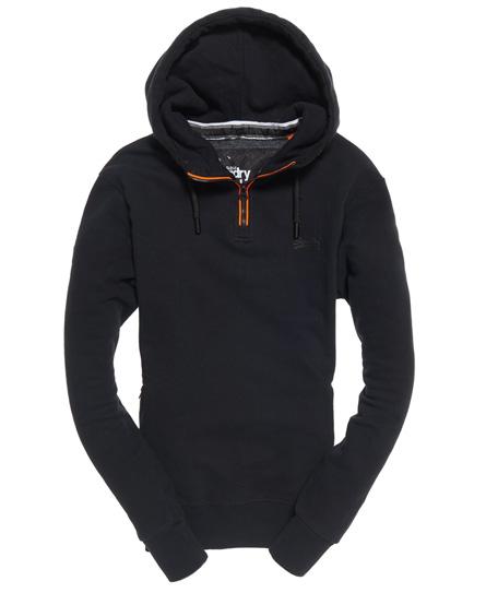Superdry Orange Label Urban Flash Half Zip Hoodie
