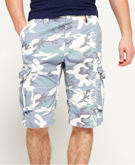 ice camo Superdry Core Cargo Lite Shorts
