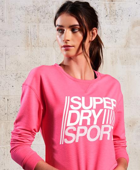 Superdry SD Sport Lightweight trui met ronde hals