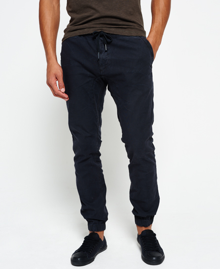 Superdry Surplus Goods Low Rider Jogginghose Schwarz