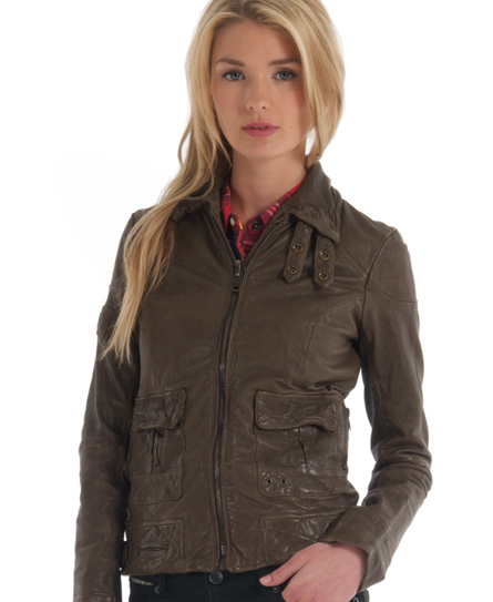 Superdry Warbird Jacket Green