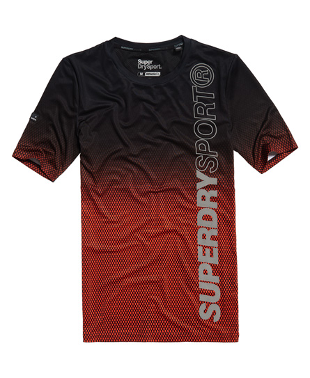 Superdry Sport Athletic All Over Print T-Shirt