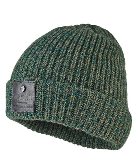 green twist Superdry Surplus Downtown Beanie