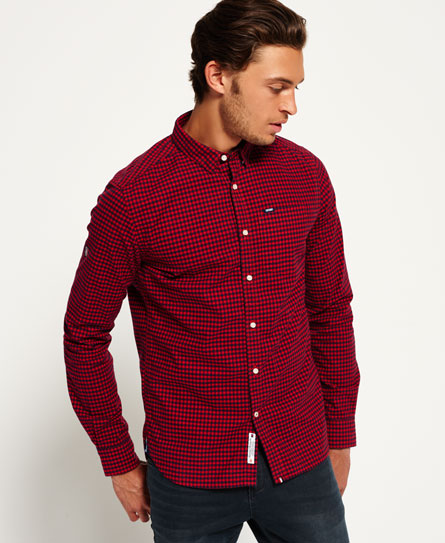 new hampshire red Superdry Ultimate Oxford Shirt