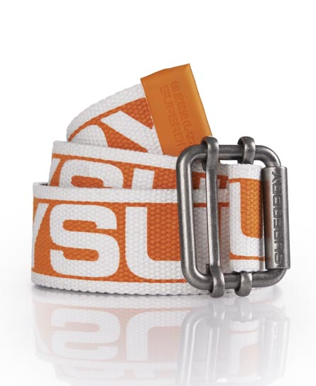 Superdry Reverse Logo Belt Orange