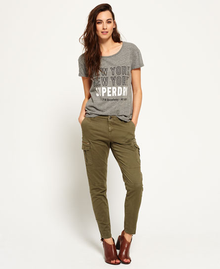 superdry pantalon cargo super skinny femme pantalons. Black Bedroom Furniture Sets. Home Design Ideas