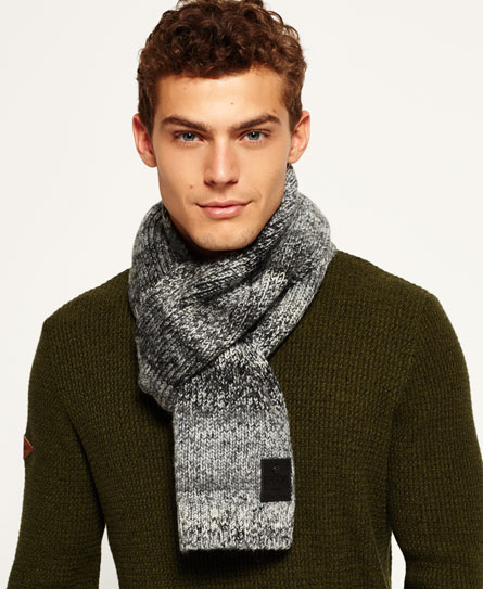 grey granite Superdry Surplus Goods Ombre Scarf