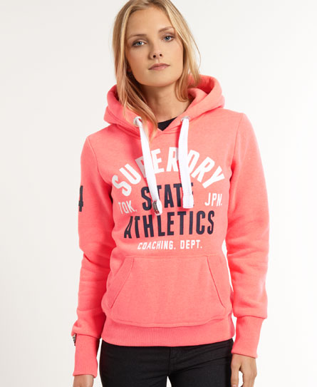 superdry super track hoodie damen hoodies. Black Bedroom Furniture Sets. Home Design Ideas