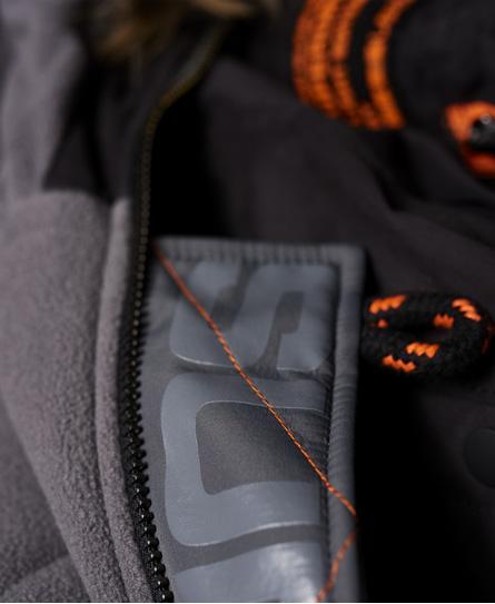 Superdry Microfibre Parka Coat