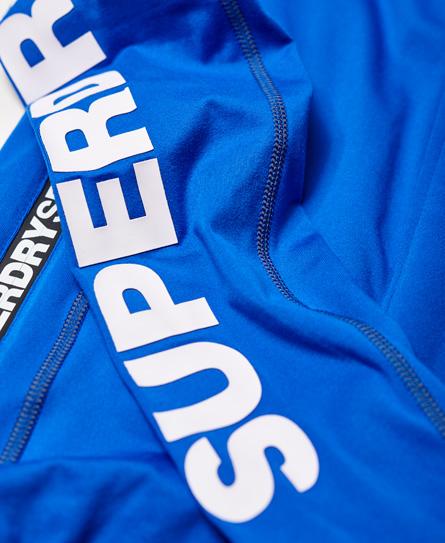 Superdry Sports Athletic Panel Zip Hoodie