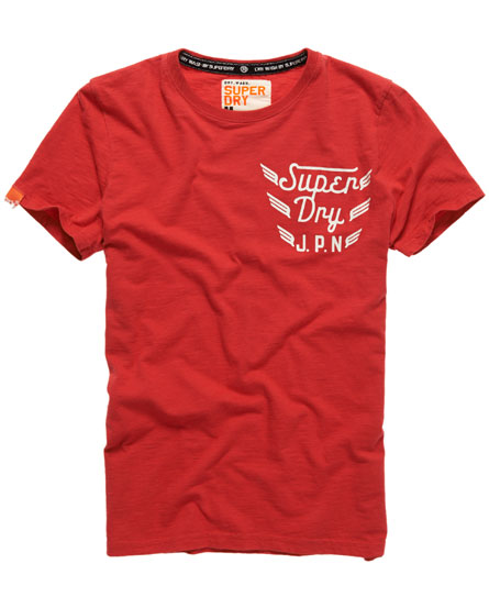 Superdry Triple Wing T-shirt Red