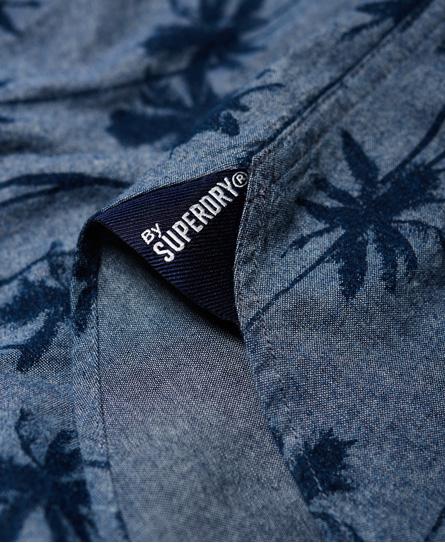 Superdry Ultimate Indigo Aloha Shirt